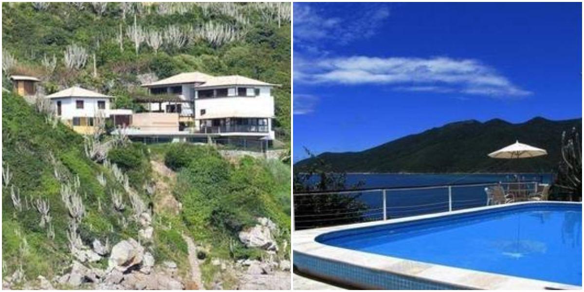 Ana Maria Braga colocou mansão em Arraial do Cabo à venda (Reprodução)