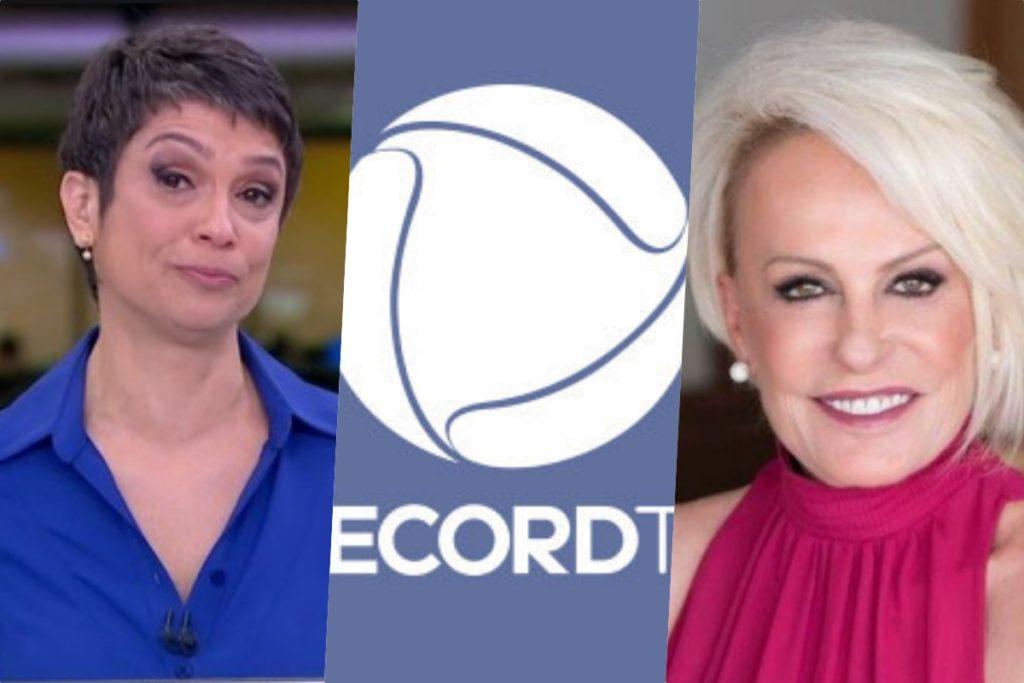 Sandra Annenberg e Ana Maria não ficam satisfeitas na Globo (Fotomontagem)