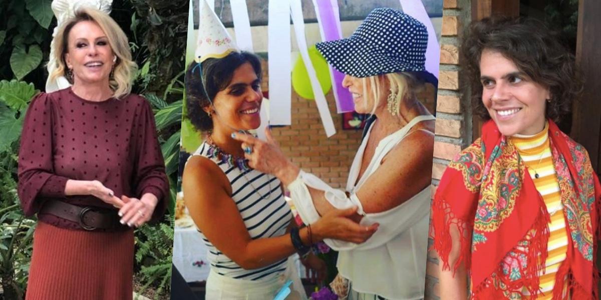Ana Maria é mãe de Mariana Maffeis (Foto: montagem)