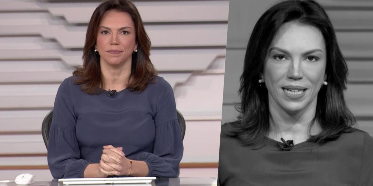 Ana Paula Araújo comanda o Bom Dia Brasil (Foto: reprodução/Globo)
