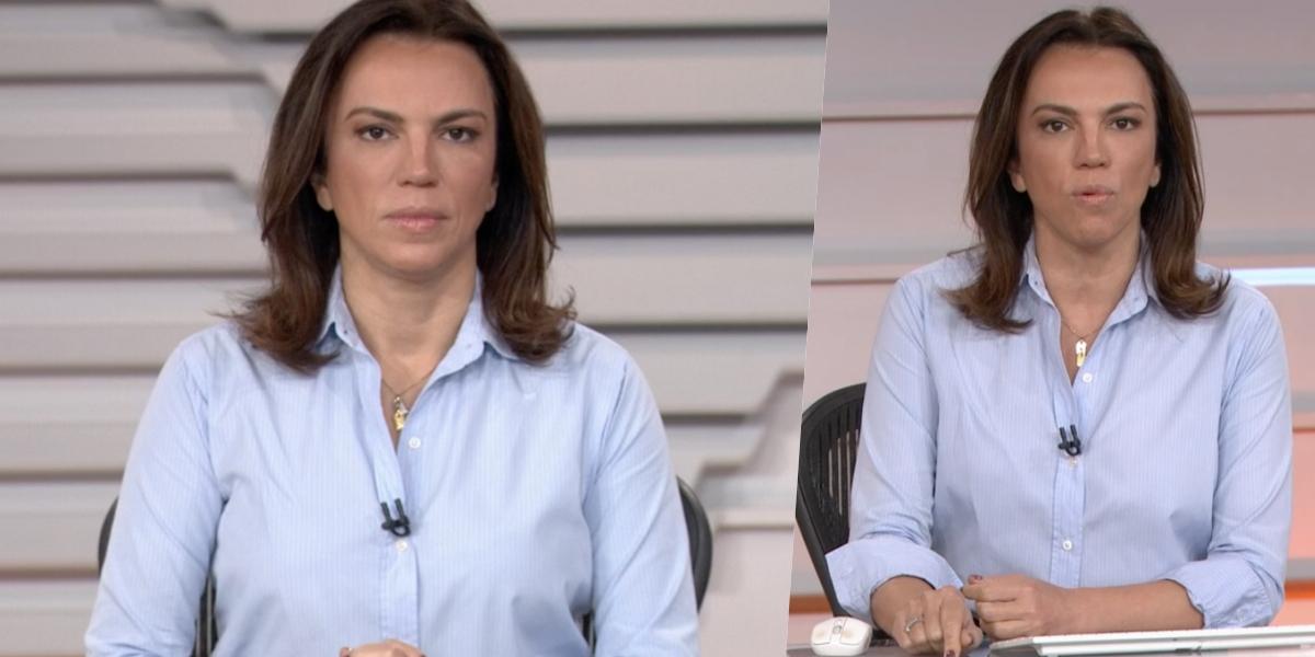 Ana Paula Araújo comanda o 'Bom Dia Brasi' (Foto: reprodução/Globo)
