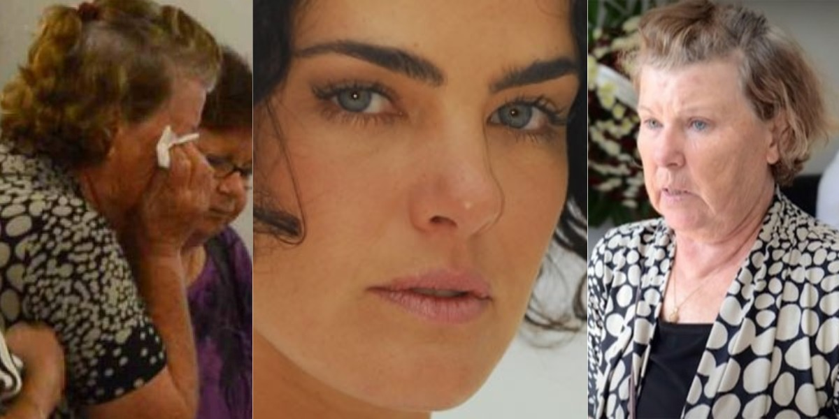 Ana Paula Arósio não fala mais com a mãe, Claudete Arósio (Foto: AgNews/TV Globo/Record)