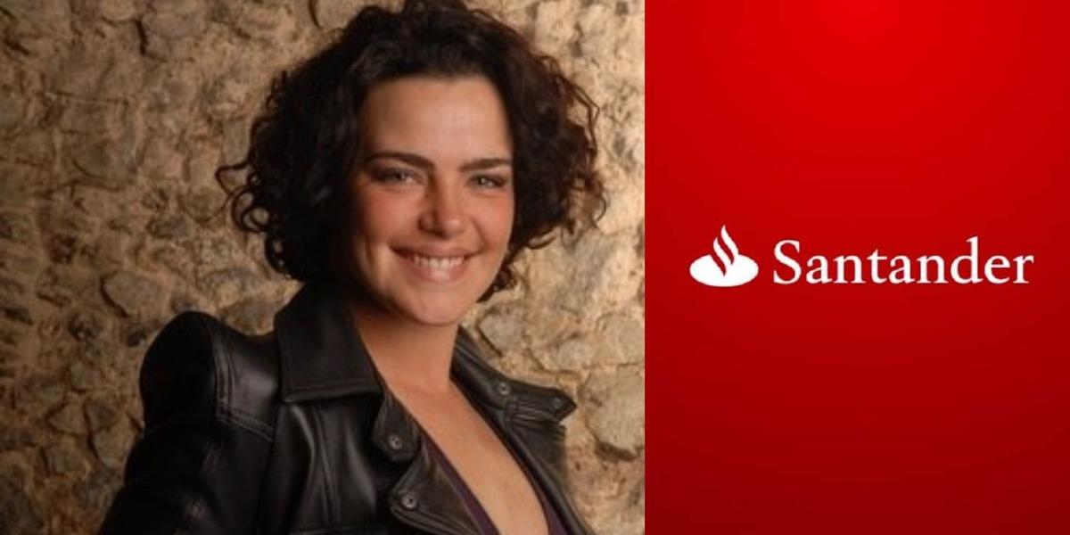 Ana Paula Arósio estará em comercial do Santander (Foto: Divulgação/TV Globo)