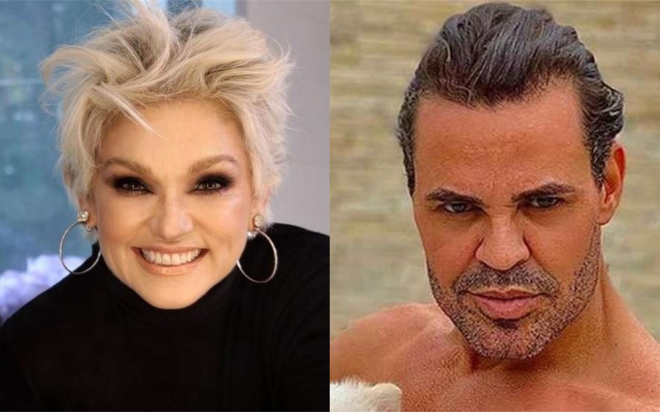 Andréa Nóbrega e Eduardo Costa (Foto: Divulgação)
