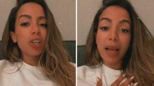 Anitta declarou estar à procura de moreno - Foto: Montagem