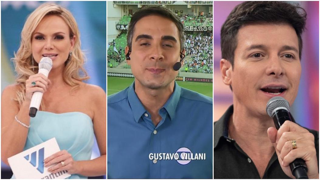 Eliana, futebol na Globo e Faro: a audiência do domingo - Foto: Montagem