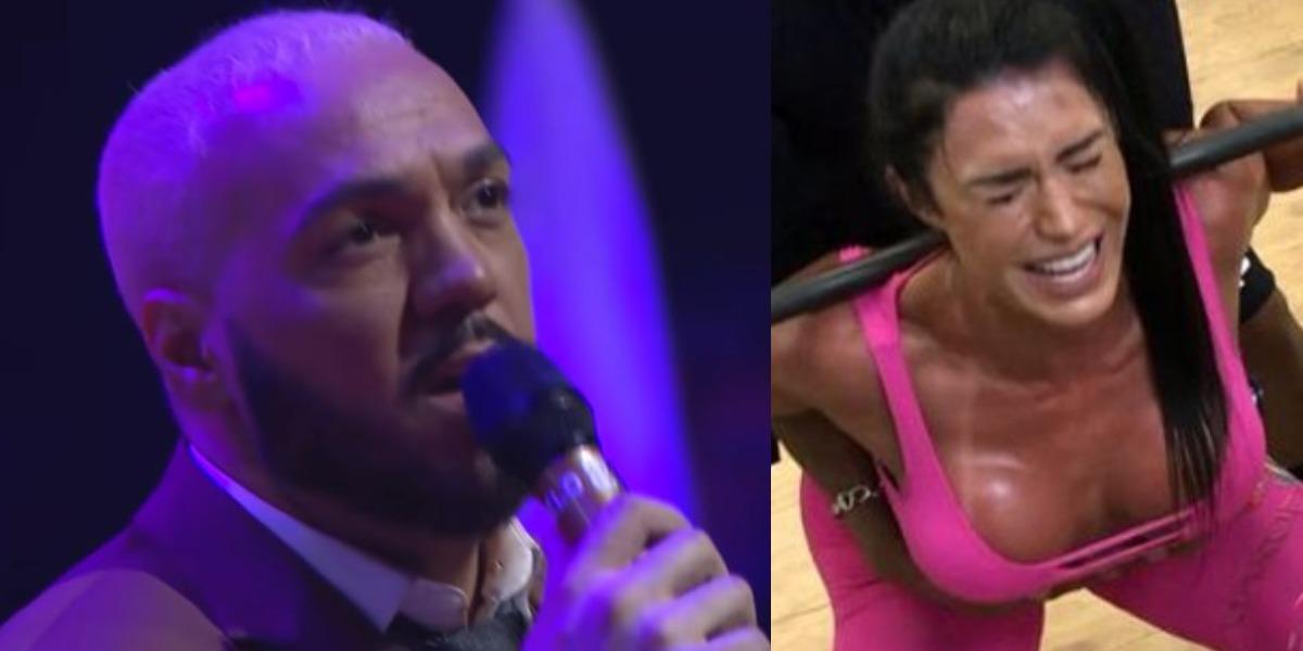 Belo e Gracyanne Barbosa passam por perrengues (Foro: Reprodução/YouTube/Instagram)
