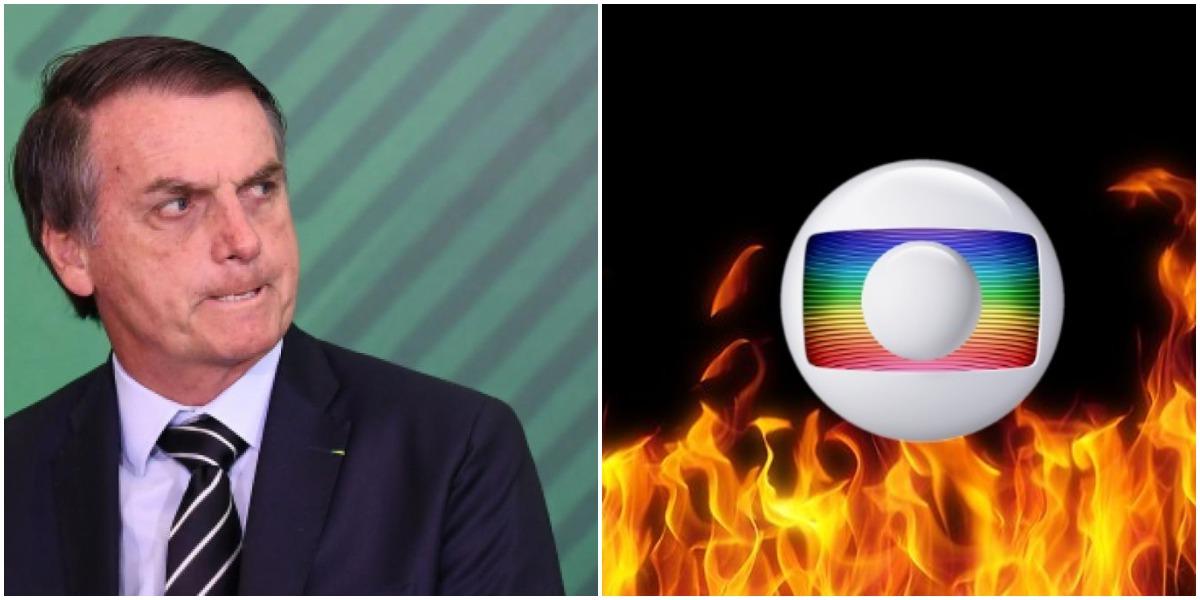 Bolsonaro ameaçou bater em repórter de O Globo (Reprodução)