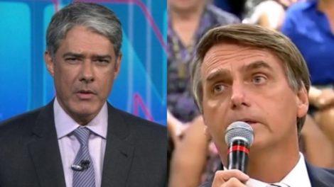 William Bonner surpreendeu com fala sobre Bolsonaro - Foto: Montagem