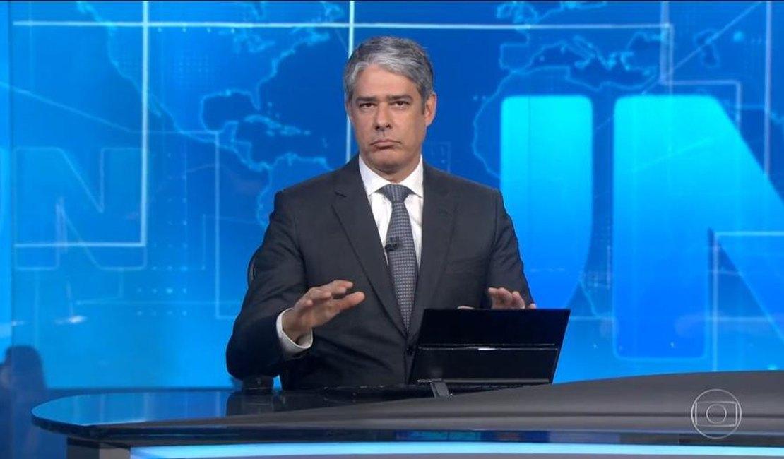 William Bonner estaria prestes a pedir demissão da Globo - Foto: Reprodução