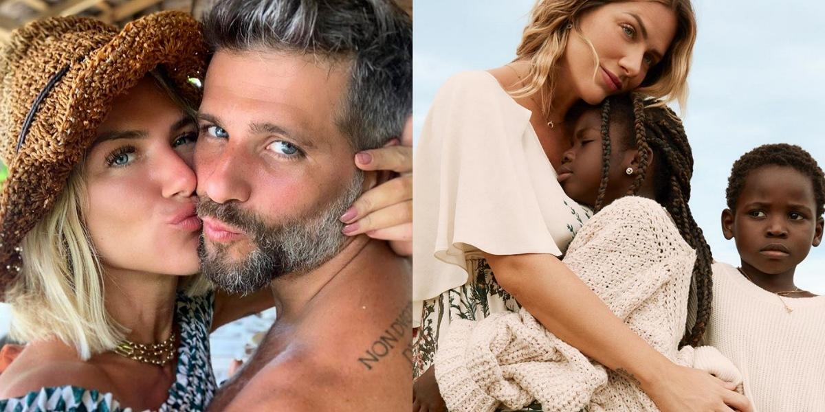 Bruno Gagliasso e Giovanna Ewbank são pais de Titi, Bless e Zayn (Foto: Reprodução/Instagram)