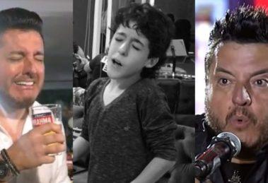 Bruno, da dupla com Marrone, é pai de Enzo Rabelo (Foto: Reprodução/YouTube/Instagram)