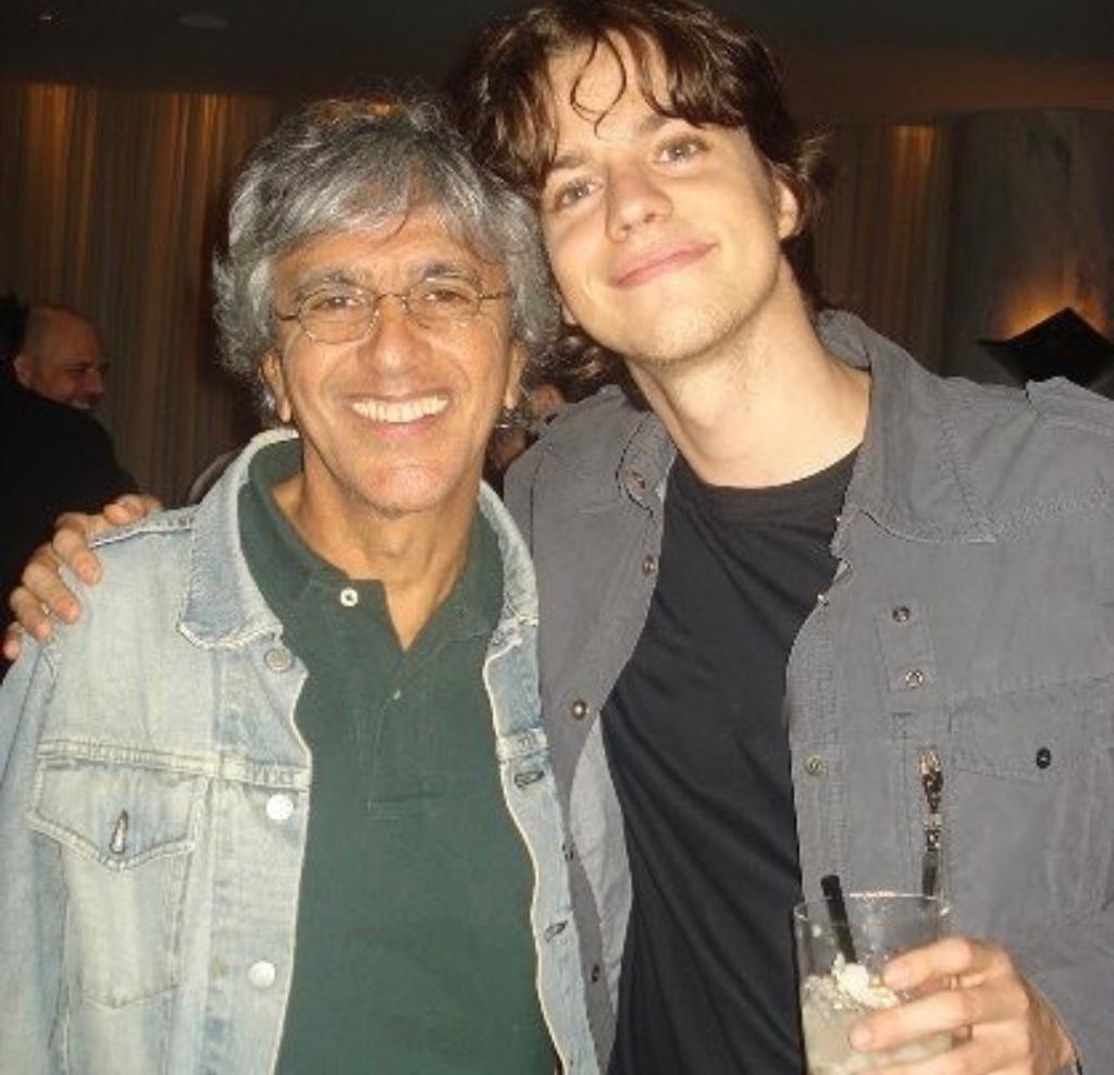Caetano Veloso e Fernando Gronstein (Foto: Reprodução/Instagram)