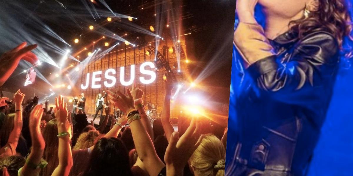 Uma cantora gospel foi pega com outro em casa (Foto: simulação)
