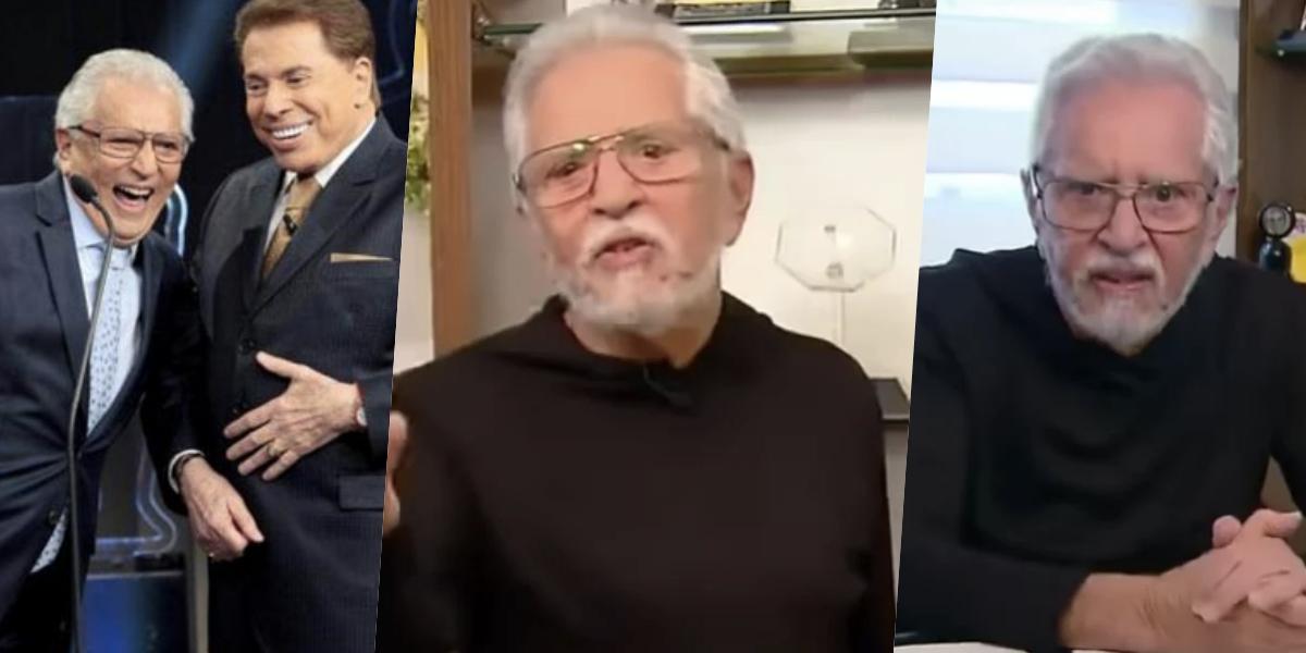 Carlos Alberto vem passando uma situação difícil na emissora de Silvio Santos (Foto: montagem)