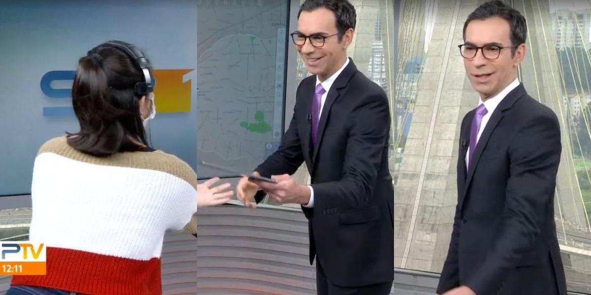 César Tralli no SP1 de hoje (Foto: Reprodução/TV Globo)