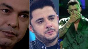 Zezé di Camargo, Cristiano Araújo e Gusttavo Lima (Foto: Divulgação)