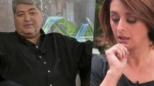 Datena e Catia Fonseca (Foto: montagem)