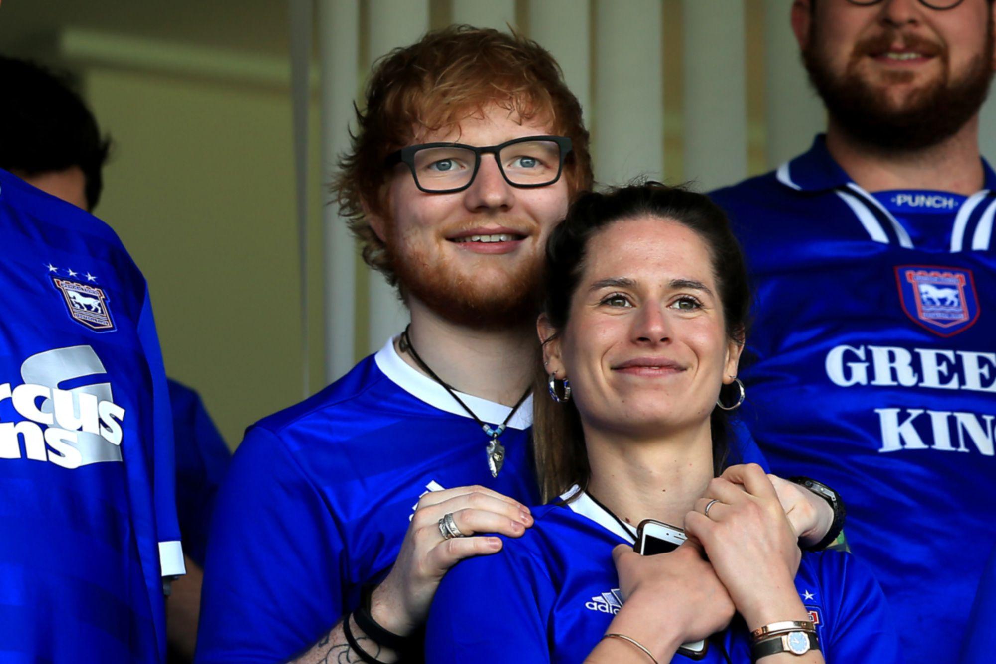Ed Sheeran e Cherry Seaborn (Foto: Reprodução)