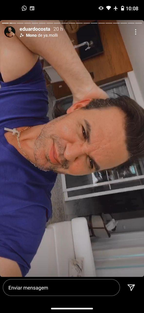 Eduardo Costa fez desabafo (Foto: Reprodução)