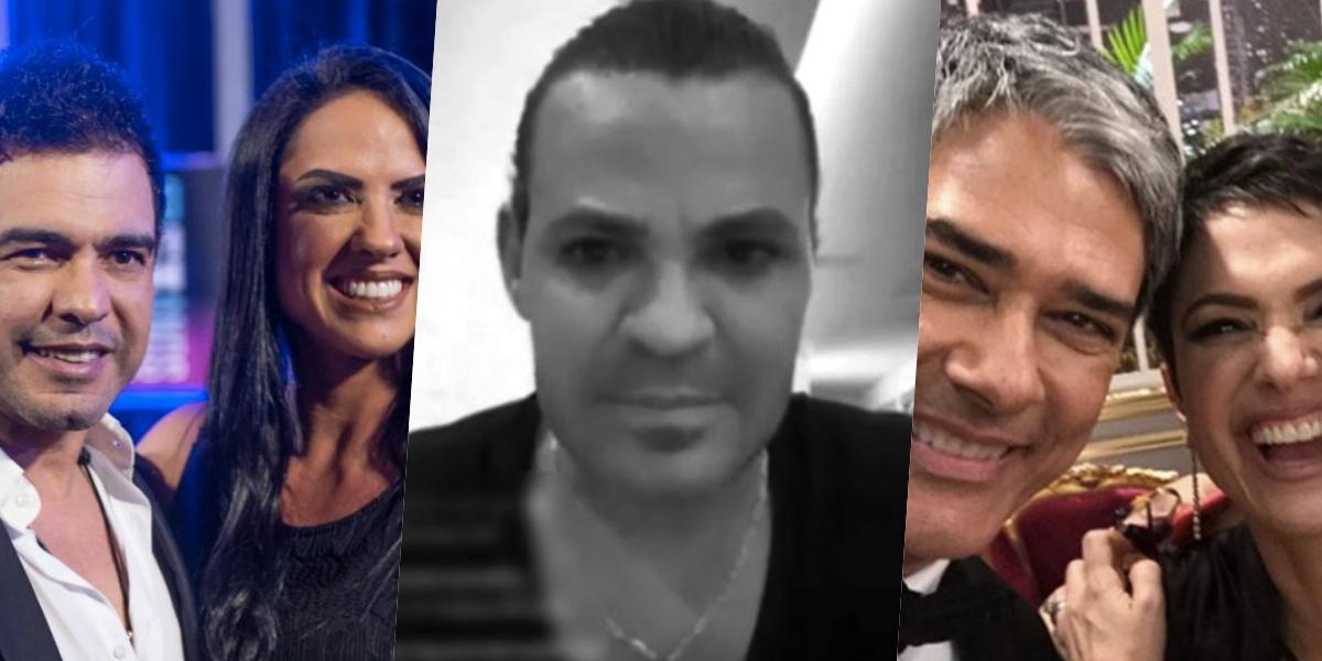 Zezé, Eduardo Costa, Bonner e Sandra receberam uma nova previsão de uma sensitiva (Foto: montagem)