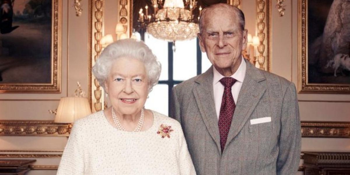 Elizabeth II e príncipe Philip (Foto: Reprodução)