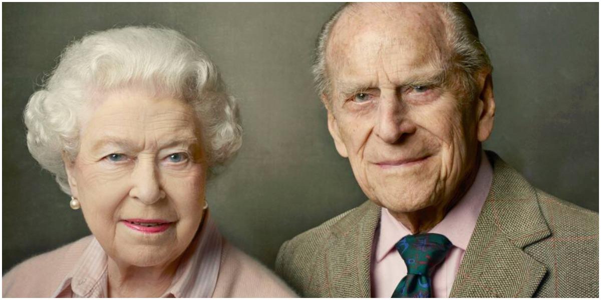 Rainha Elizabeth II e príncipe Philip (Foto: Reprodução)
