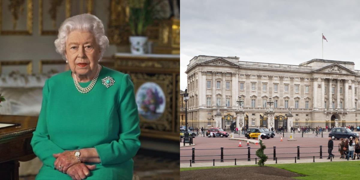 Elizabeth II abandona palácio de Buckingham (Foto: Reprodução)