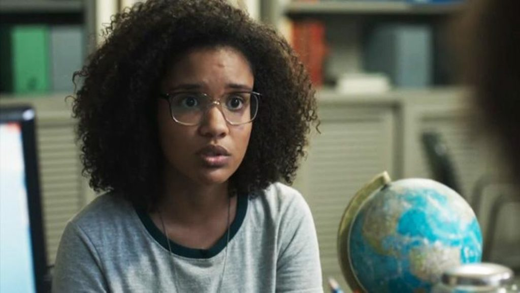 Ellen (Heslaine Vieira) em cena de Malhação - Viva a Diferença