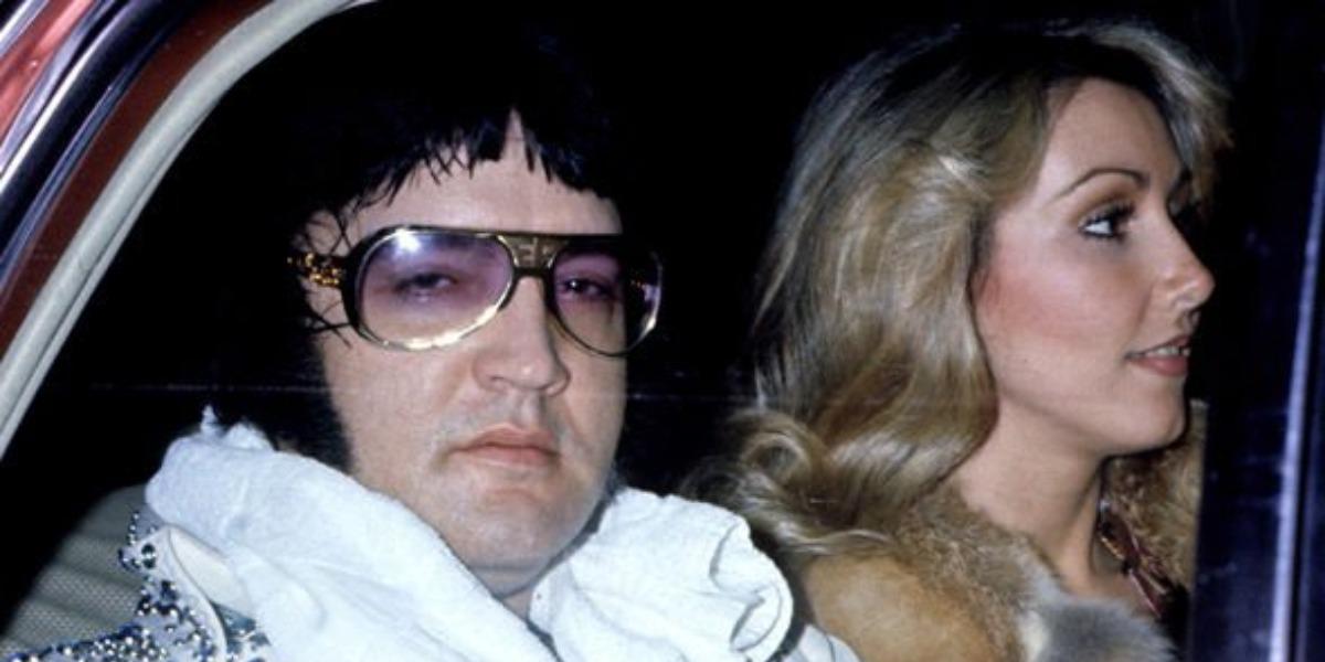 Elvis Presley e Linda Thompson (Foto: Reprodução)