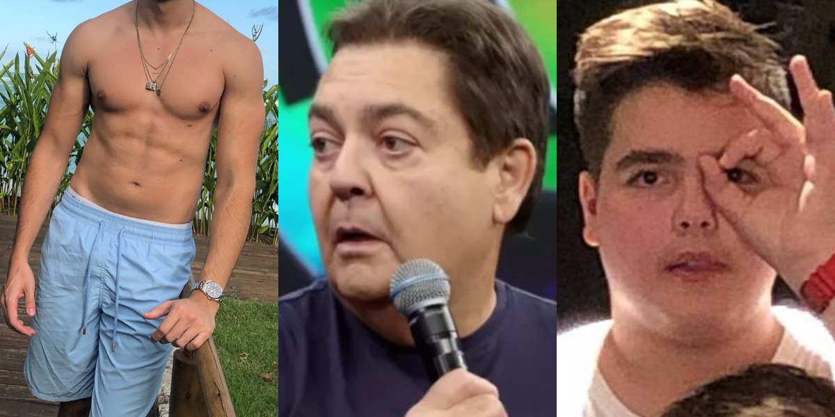 Faustão é pai de João Silva e genro de Julinho Casares (Foto: Reprodução/Instagram/TV Globo)