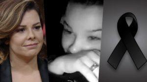Fernanda Souza lamentou uma morte (Foto: montagem)