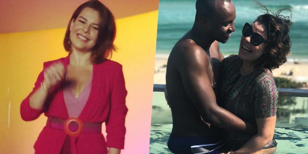 Fernanda Souza foi casada com Thiaguinho (Foto: montagem)