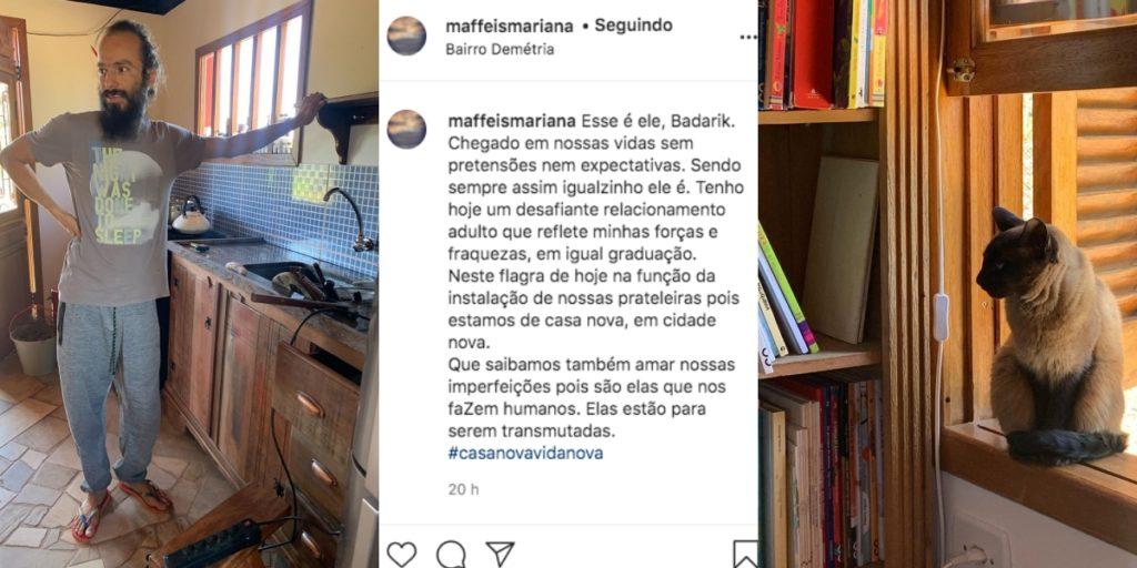 Filha de Ana María Braga declara ao marido (Foto: Reprodução)
