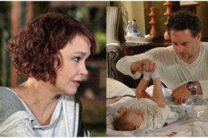 A bebê Vitória fez sucesso na novela Fina Estampa - Foto: Montagem