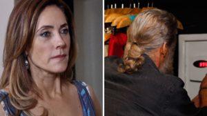 Tereza Cristina (Christiane Torloni) flagra Pereirinha (José Mayer) mexendo no cofre em Fina Estampa (Foto: Reprodução/Globo)