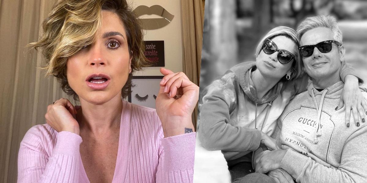 Flávia Alessandra é casada com Otaviano Costa (Foto: montagem)