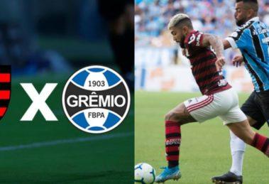Onde assistir Flamengo e Grêmio (Foto: Reprodução)