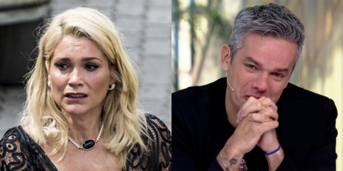 Flávia Alessandra é casada com Otaviano Costa (Foto: Reprodução/TV Globo)