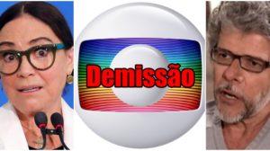 Regina Duarte e José Mayer já foram contratados do mais alto escalão da Globo (Reprodução)