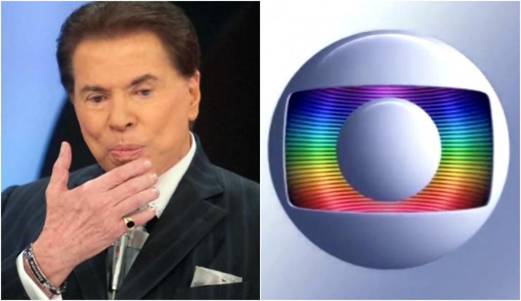 Globo levou nova rasteira após Silvio Santos - Foto: Montagem
