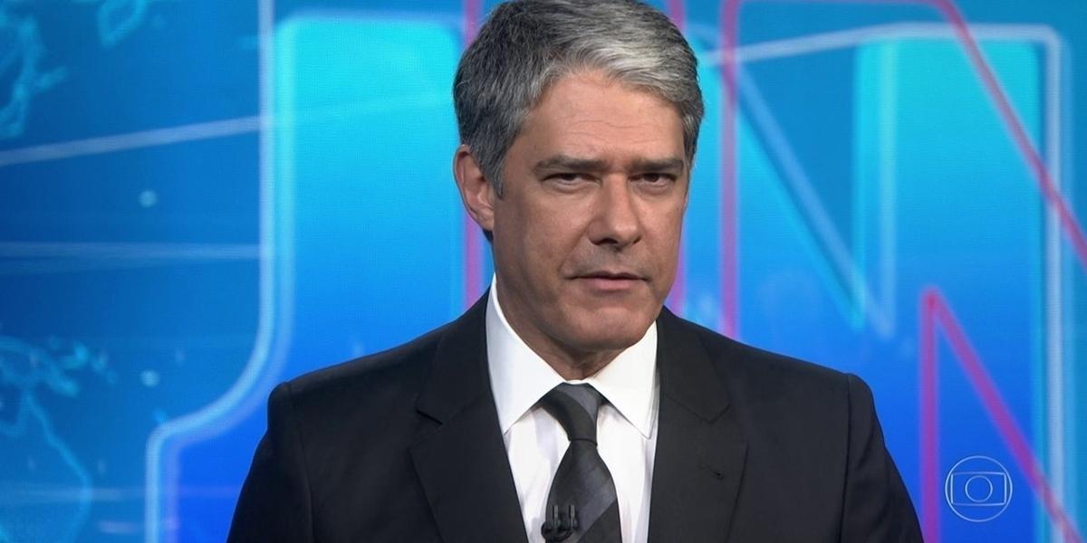 William Bonner no comando do Jornal Nacional, que faturou milhões com anunciante (Foto: Reprodução/Globo)