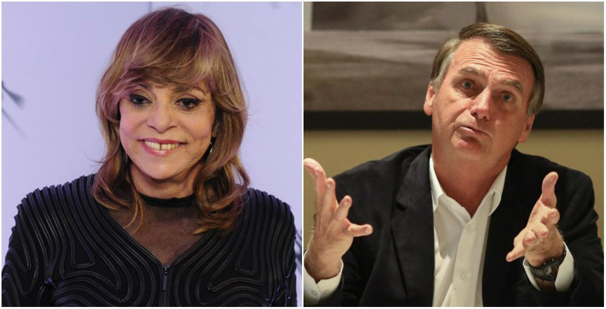 Gloria Perez seria apoiadora do presidente Jair Bolsonaro - Foto: Montagem