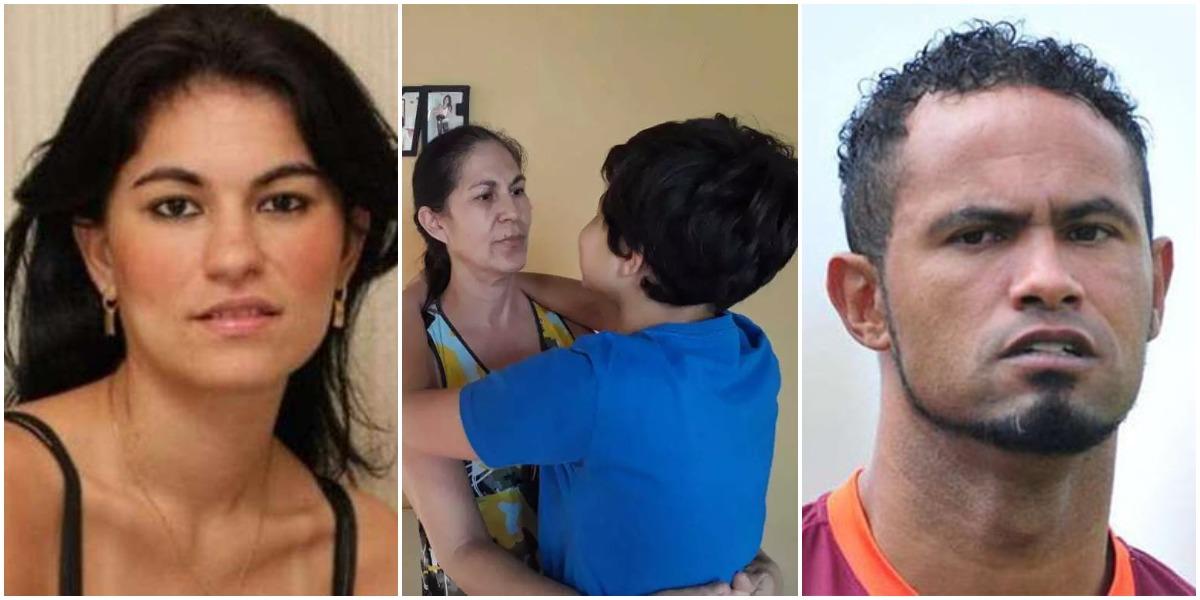 Goleiro Bruno foi condenado pelo assassinato de Eliza Samudio, mãe de seu filho, Bruninho (Reprodução)