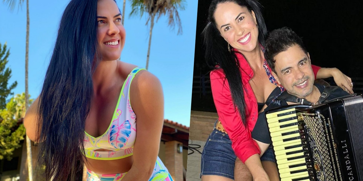 Graciele Lacerda é noiva de Zezé di Camargo (Foto: reprodução/Instagram)