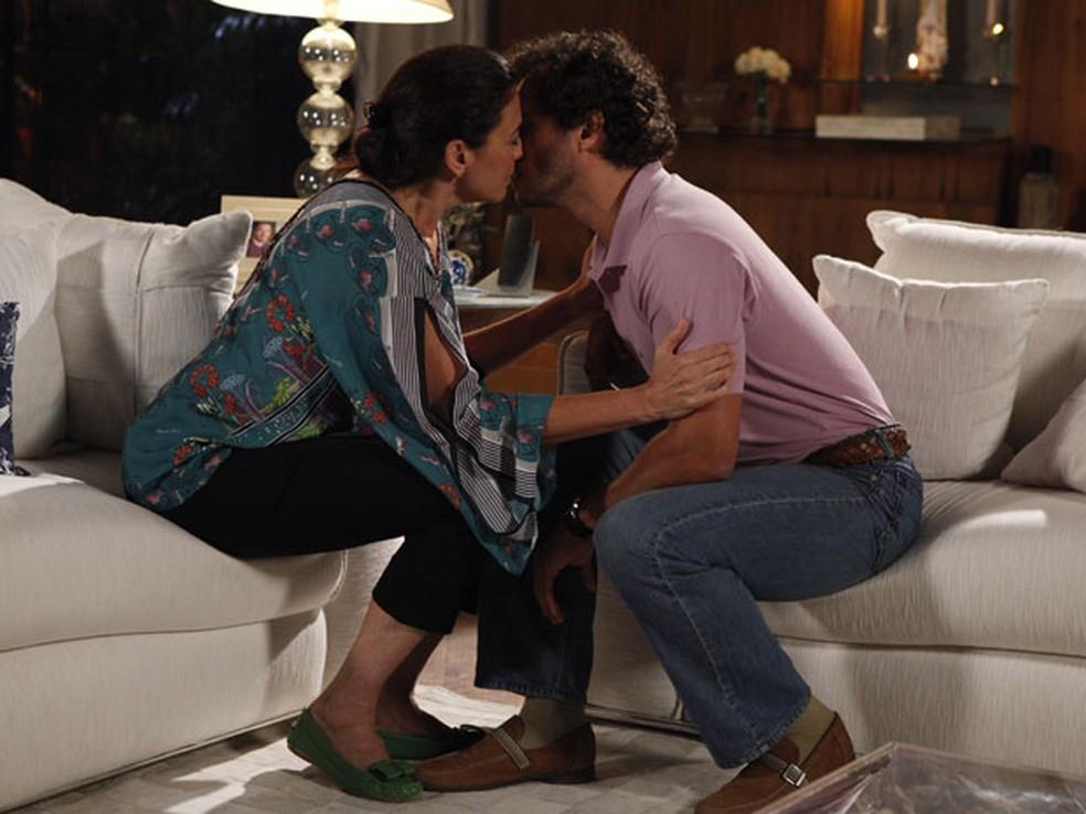 Griselda e Guaracy na novela Fina Estampa - Foto: Reprodução