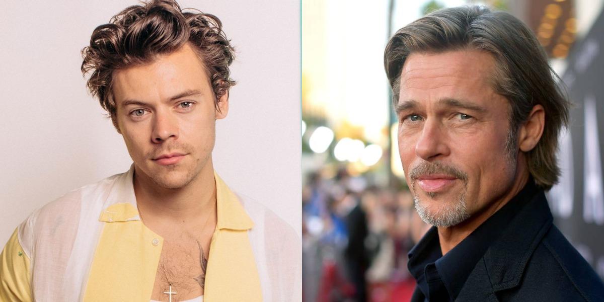 Harry Styles e Brad Pitt protagonizaram filme juntos (Foto: Reprodução)