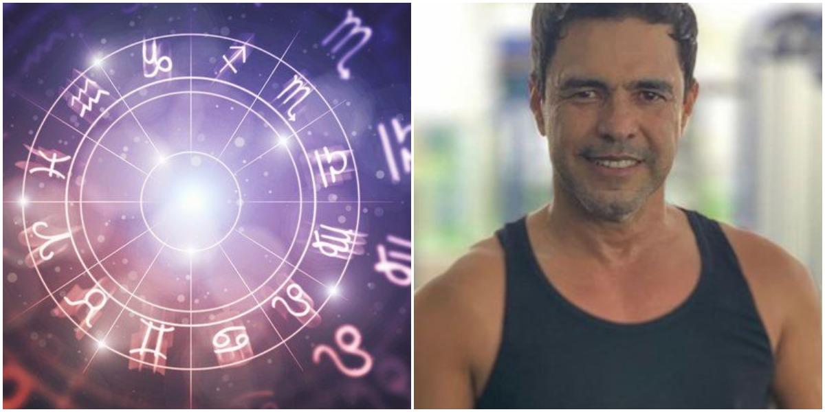 A segunda-feira 17 de agosto é marcada pelo aniversário do cantor Zezé Di Camargo, sertanejo que é do signo de Leão (Foto: Reprodução