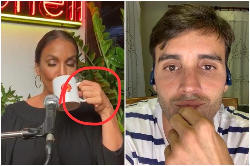 Ivete Sangalo foi flagrada sem a aliança de casamento (Foto: Reprodução)