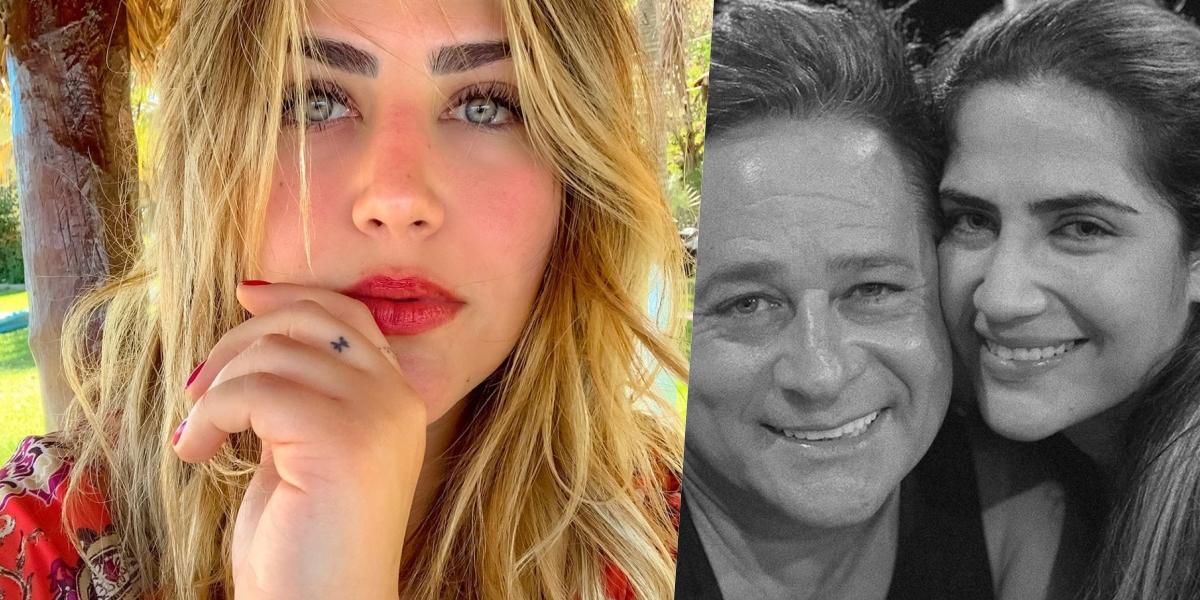 Jéssica Costa é filha de Leonardo (Foto: montagem)